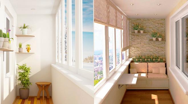 Быстрый и недорогой ремонт балкона