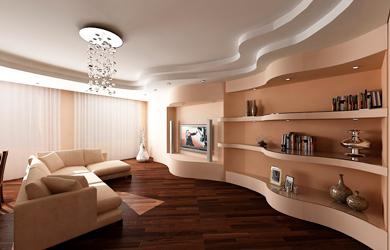 Вариант отделки комнаты
