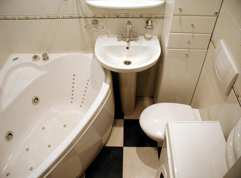 Объединение туалета и ванной в хрущевке