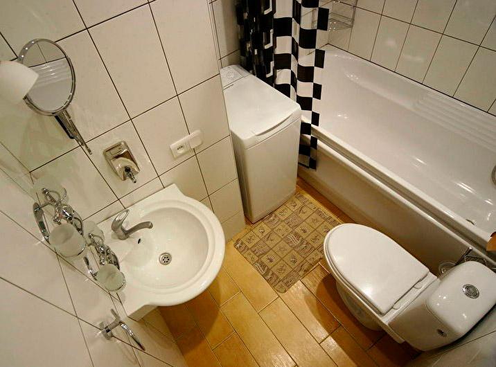 Правильная расстановка в ванной