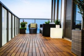 Пол на балконе